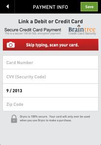 Drync payment