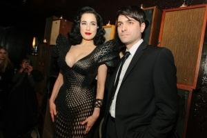 Francis Bitonti with Dita Von Teese