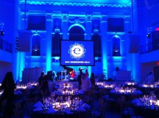 At the 2011 Endeavor Gala honoring Reid Hoffman and Fadi Ghandour