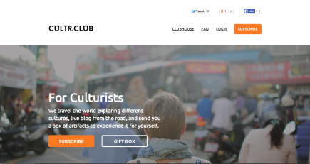 CultrClub_LaunchPage